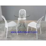 ให้เช่าโต๊ะกระจก เก้าอี้เจรจา ชุดโต๊ะเก้าอี้เจรจา ราคาถูก