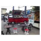 ให้เช่ารถโฟล์คบาร์น้ำเปิดหลังคา พร้อมเครื่องเสียง รับจัดงานRetro 086,322-6606
